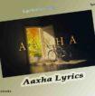 Aaxha Lyrics in English