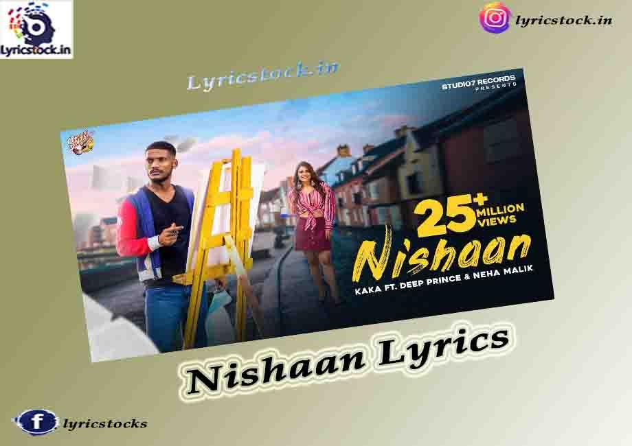 Nishaan Lyrics in English and Hindi