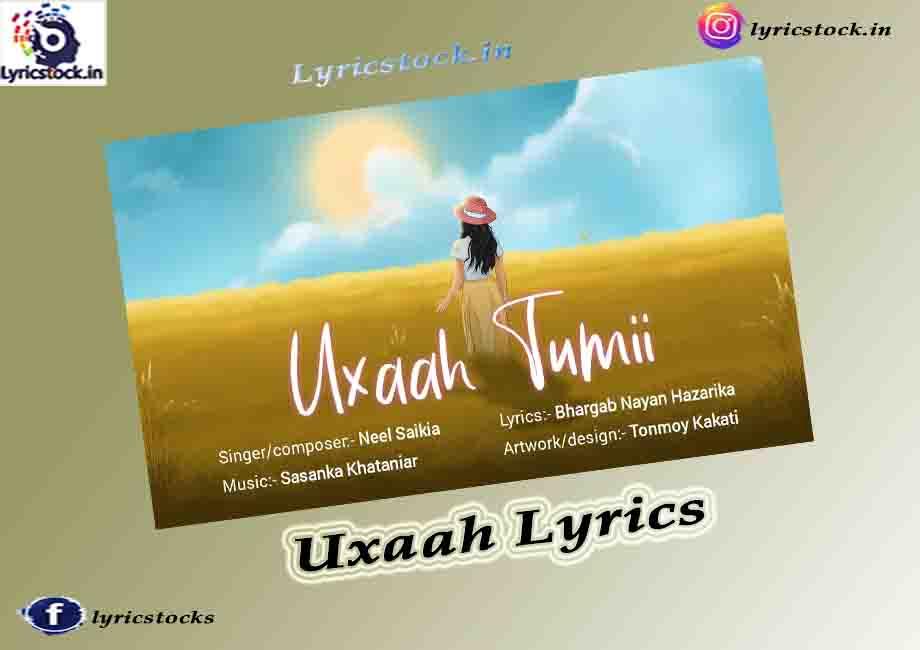 """""""Uxaah Tumii Lyrics in English """""""